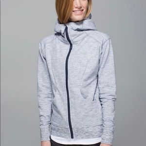Lululemon On The Daily Hoodie Heathered Space 12